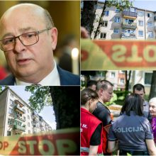 Griūvančiame daugiabutyje apsilankęs Kauno meras: įspūdis labai prastas