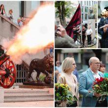 Kaunas pradėjo švęsti Valstybės dieną: oras pakoregavo planus