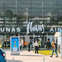 """Žaismingas akibrokštas: Kauno oro uostas tampa """"Fluxus"""" oro uostu"""
