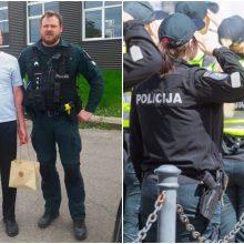 Tragiška pareigūno žūtis vienija žmones: pareigūnai papasakojo neeilinę istoriją