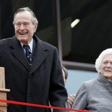Mirė buvęs JAV prezidentas Džordžas H. V. Bušas