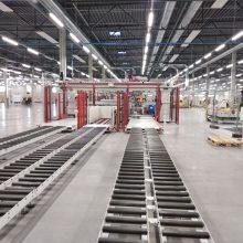 """kovo 20 d. Kauno LEZ iškilmingai atidaryta moderniausia baldų gamykla Europoje """"Geras baldų fabrikas""""."""