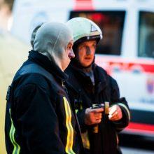 Nerami naktis Panemunėje: ryte įvykio vietoje rasta duobė ir savadarbio sprogmens likučiai