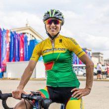 Europos dviračių plento čempionate – solidus R. Leleivytės pasirodymas