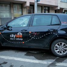 """Išaiškinti išpuoliai prieš """"CityBee"""": per mėnesį – septyniolika vagysčių"""