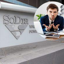 """Informacija apie skolą ne juokais išgąsdino: """"Sodra"""" klaidina gyventojus?"""