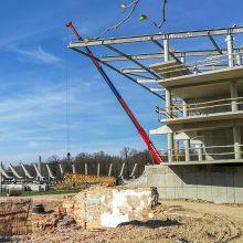 Kada užvirs darbai Kauno stadione?
