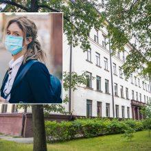 Koronavirusas nustatytas vienam Kauno Maironio gimnazijos moksleiviui
