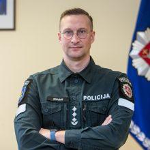 Naujasis Kauno policijos vadovas: nesu žvaigždė, didvyriai – kiti