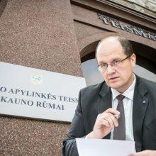 Iš pareigų traukiasi Kauno apylinkės teismo vicepirmininkė – išsiskyrė požiūriai su vadovu