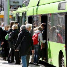 Sekmadienį Kaune – nemokamas viešasis transportas, Vilniuje – tik su viena sąlyga