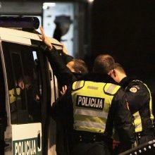 Kauno policijos veteranas įtariamas nusikaltęs jau pirmą atostogų dieną