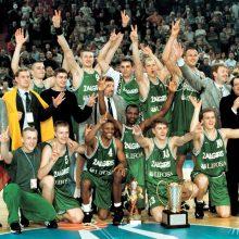 Pagerbs 1999-ųjų Eurolygos čempionus