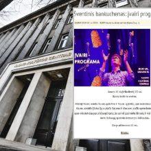 Vasario 16-osios skandalas kultūros centre: užgaulių žodžių neliko nė kvapo