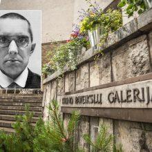 Galerijai – J. Mačiūno vardas. Neapgalvota idėja?
