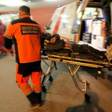 Karmėlavoje rastas smarkiai sužalotas ir sušalęs vyras