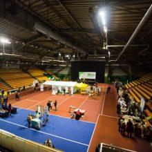 Pasirašyta 9,3 mln. eurų vertės Sporto halės rekonstrukcijos sutartis