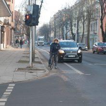 Darbai: Kęstučio gatvėje bus tvarkoma ir važiuojamoji kelio dalis, ir šaligatviai