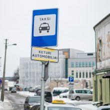Ginčai dėl taksi stotelių: kodėl kai kurie pažeidėjai lieka nenubausti?