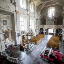 Jiezno brangakmenis – Pažaislio fundatorių Pacų pastatyta bažnyčia
