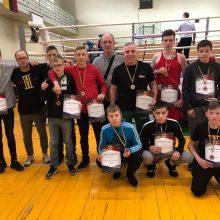 Kauno boksininkų rankose – 16 medalių