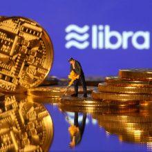 """Facebook"" kriptovaliuta libra baugina finansų elitą"