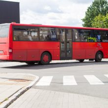 Autobusų vairuotojams taisyklės negalioja?