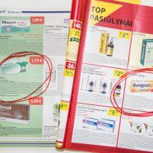 Sunku patikėti: akcijų leidiniuose toliau reklamuoja uždraustus vaistus