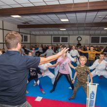 Kovos menų akademijoje – pažintis su sumo
