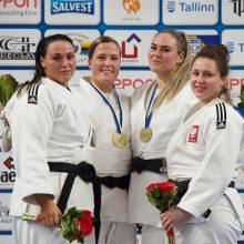 Dziudo meistrai Taline iškovojo ne vien medalių