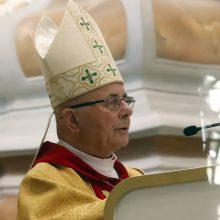 Tremties kryžius – didesnė dovana už kardinolo titulą