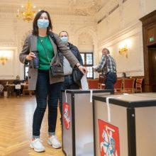 Baigiasi išankstinis balsavimas antrajame Seimo rinkimų ture