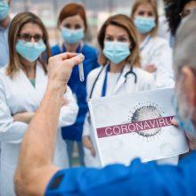 Gydymo įstaigos dar negavo lėšų priedams už darbą su COVID-19 pacientais