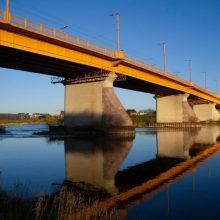 Neeilinis pranešimas apie vandalų ardomą vieną Kauno tiltą sukėlė ant kojų specialiąsias tarnybas