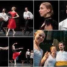 Muzikinio teatro baleto trupę papildė nauji veidai