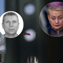 Rusijos žvalgybininkas ir lietuvis nuteisti už informacijos apie D. Grybauskaitę rinkimą