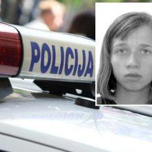 Policija ieško iš vaikų globos namų išėjusios ir negrįžusios paauglės