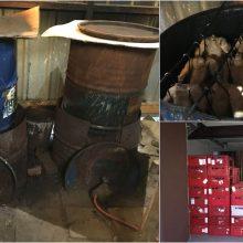 """FNTT pareigūnus šokiravo tyrimo metu aptiktas mėsos perdirbimo """"fabrikėlis"""""""