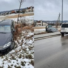 """Policija surado pabėgusį """"Volkswagen"""" vairuotoją: vyras įpūtė 1,63 prom."""