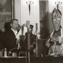 Antano Smetonos, ketvirtą kartą išrinkto Respublikos Prezidentu, priesaikos ceremonija.