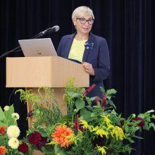 Švietimo, mokslo ir sporto ministrė teigiamai įvertino savivaldybės idėjas