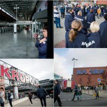 """Po evakuacijos """"Maxima"""" Kauno """"Akropolyje"""" nedirba iki šiol"""
