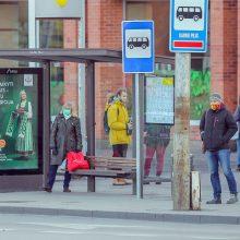 Grąžinti ribojimų viešajame transporte Kaunas kol kas neketina