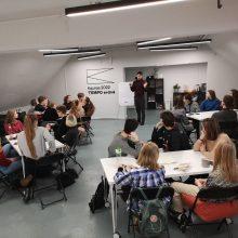 Galimybė moksleiviams – auginti savo miestą