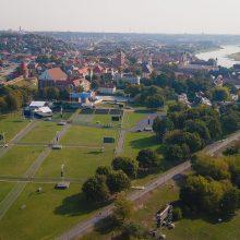 Pauzė baigėsi: Kaunas toliau tęs Santakos parko rekonstrukciją