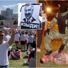 Maksimas – apie siaubą Minske: sumušti žmonės gulėjo kraujyje, tai buvo lūžio taškas