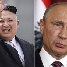 Rusija rengiasi V. Putino ir Šiaurės Korėjos lyderio susitikimui