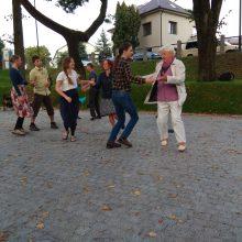 Prie Kauko laiptų – šokių entuziastų vakaronė