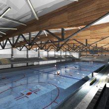 Kaunas dėl naujos ledo arenos perkels upelį. Kaip viskas vyks?