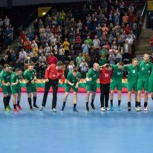 Lietuvos rankininkai pasiekė kovingas lygiąsias, bet nepateko į Europos čempionatą